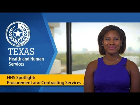 HHS Spotlight: Procurement and Contracting Services
