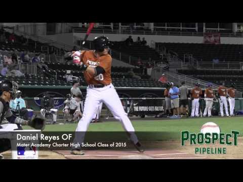Daniel Reyes Prospect Video, OF, Mater Academy Charter High School Class of 2015