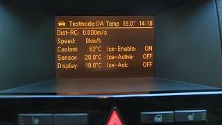 Скрытое меню в опель астра или как посмотреть температуру охлаждающей жидкости