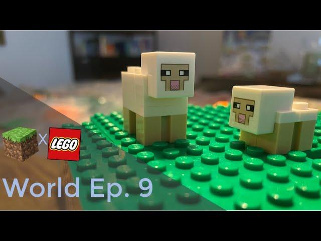 LEGO® X Minecraft World #9 - Esel (ich), Babyschaf und Birke
