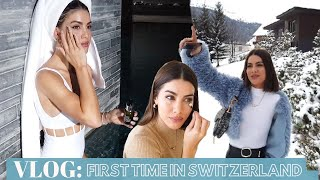 VLOG: FIRST TIME IN SWITZERLAND❄️