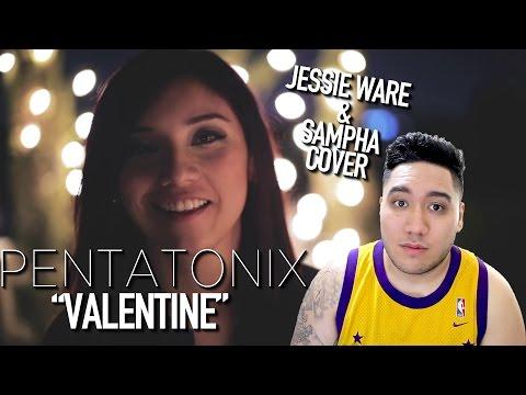 Pentatonix - Valentine (Jessie Ware & Sampha Cover) REACTION!!!