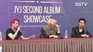 "[SSTV] 김준수-박유천-김재중이 JYJ에게 ""친구 이상으로 의지, 사랑해요~"""