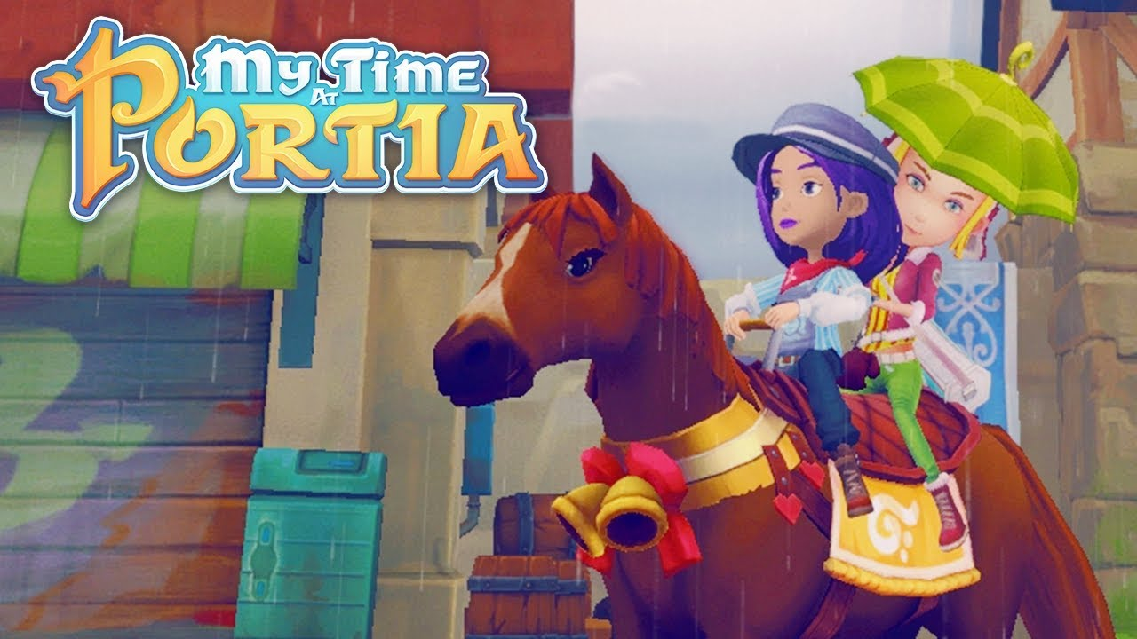 Two Can Ride My Time At Portia Alpha 50 Part 130 Youtube