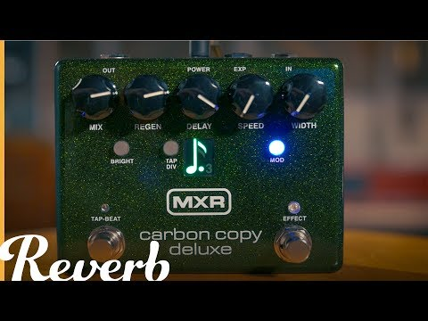 MXR Carbon Copy Deluxe | Reverb Demo Video
