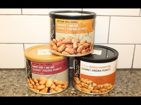Belmont Peanuts: Habanero + Sea Salt, Sweet Chili + Sea Salt, Hickory-Smoked BBQ Review