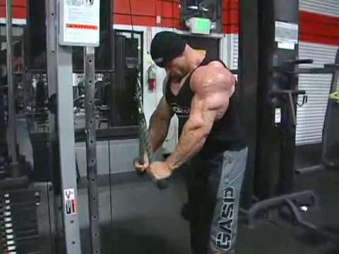 Branch Warren: Feb 16 - Shoulders/Triceps workout