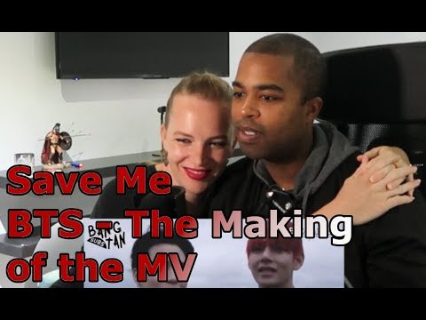 Save Me - BTS - The Making of the MV (REACTION 馃幍)