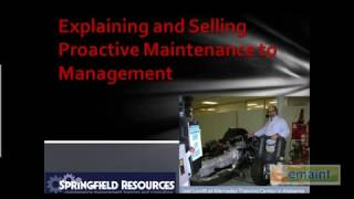selling and explaining proactive maintenance emaint cmms