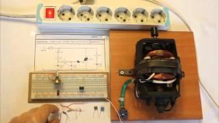 Triyaklı AC seri motor hız kontrolü