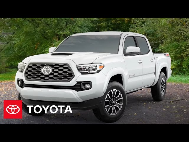 2022 Tacoma Overview | Toyota