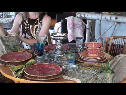 Artesian Road Dinnerware Designed by Tracy Porter