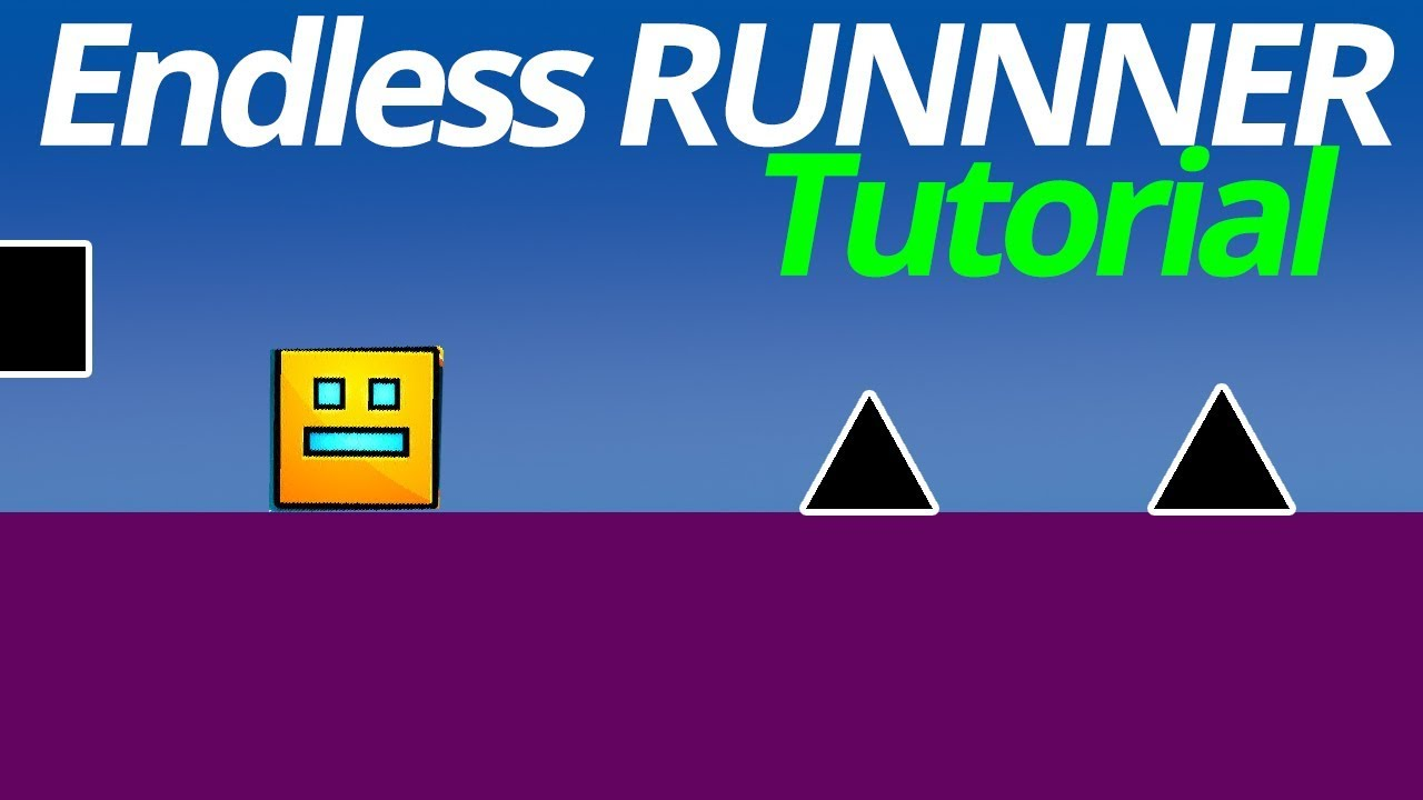 How to make an endless runner in Gdevelop FREE GAME ENGINE