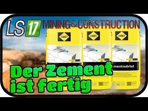 Der Zement ist fertig #009   LS17 MINING & CONSTRUCTION ECONOMY ★FARMING SIMULATOR 17