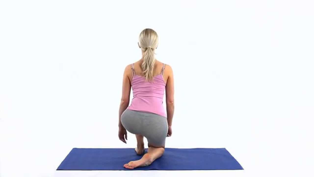 How to stretch your tibialis anterior 1 - YouTube
