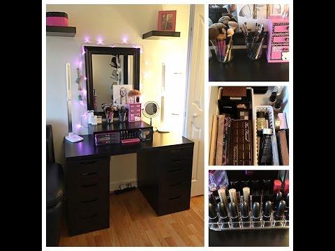 Room Tour - Office, Recording Studio, Makeup Vanity/Collection