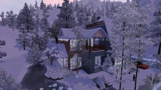 The Sims 3 House Building -Winter Snow 276- DutchSims 3 Master