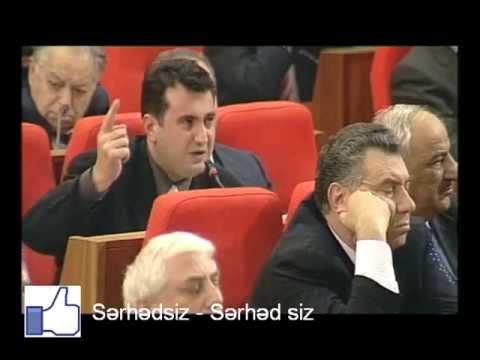 Anar Məmmədxanovun Milli Məclisdə sərt çıxışı (Arxiv)