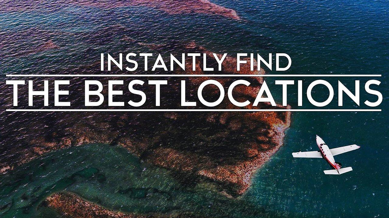 Microsoft Flight Simulator - Instantly Find Spectacular Flight Locations
