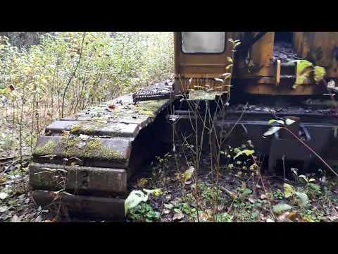 Abandoned P&H Crane In Northwest B.C.