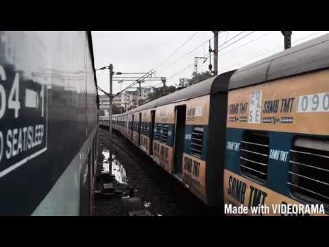 Indian Railways Timelapse ( Train video ) Best Video