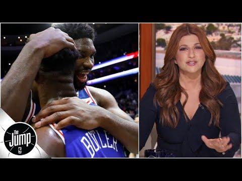 Live from 'Lametown': Rachel Nichols recaps 76ers' big win vs. Celtics | The Jump