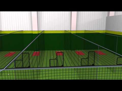 Batting Cage and Baseball Training Facility Supply and Construction