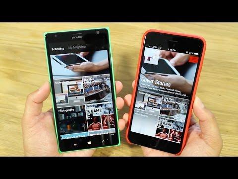 Flipboard: iOS vs Windows Phone
