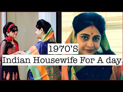 1970's Indian Housewife For A Day ||  Mother's Routine || #Vlog #Roleplay #Routine