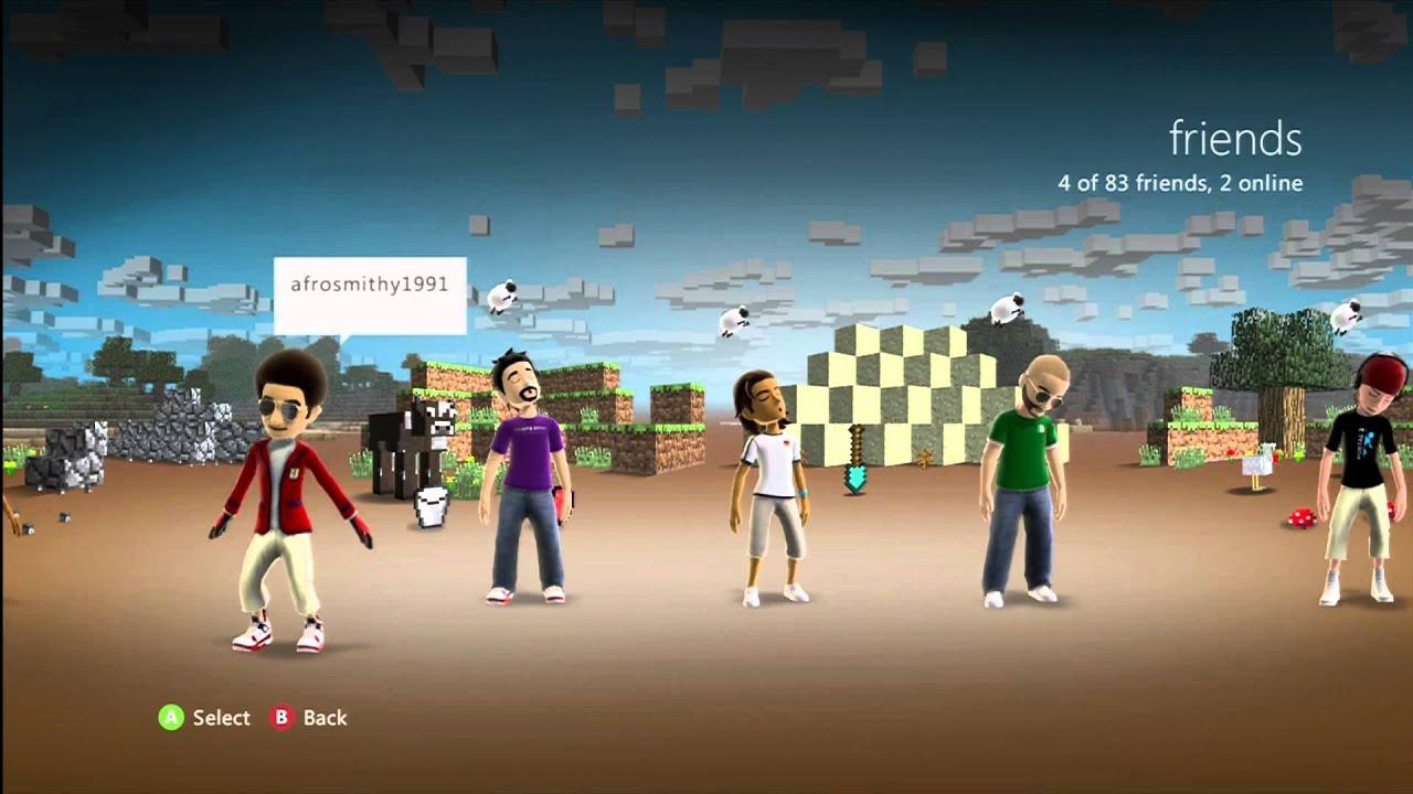 Minecraft Xbox 360 Theme Download