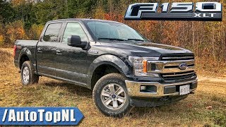 2018 Ford F150 XLT SuperCrew 5.0 V8 REVIEW POV Test Drive by AutoTopNL