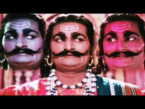 Ravana with ten heads is confused on issue...