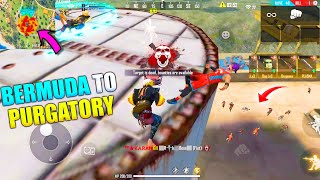 Bermuda To Purgatory Best Funny Gameplay   King Of Factory Fist Fight P.K. GAMERS   Garena Free Fire