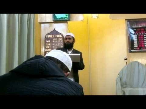 Maulana Qari Abdul Basit Shahid (DB) Bayaan - Upbringing Of Children - Keighley(12/05/13)