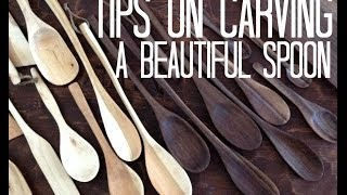 Tips On Carving A Beautiful Wooden Spoon
