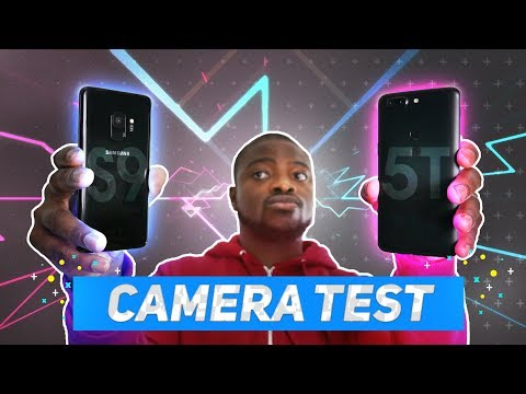 Samsung Galaxy S9 vs OnePlus 5T | ULTIMATE Camera test