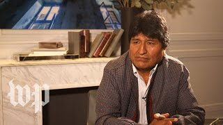 Morales: 'My resignation is in the hands of congress'