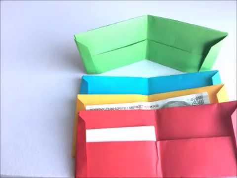 origami porte monnaie en papier facile porte monnaie origami by sb francais youtube. Black Bedroom Furniture Sets. Home Design Ideas