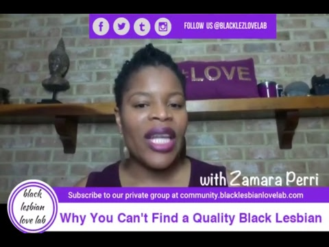 Why You Can't Find A Quality Black Lesbian