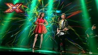 Группа Mountain Breeze и Sophie Ellis-Bextor - Catch you. Х-фактор 7. Седьмой прямой эфир