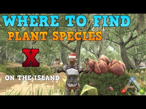 "The most ""FOOLproof"" guide on where to find plant species x on the ISLAND map"