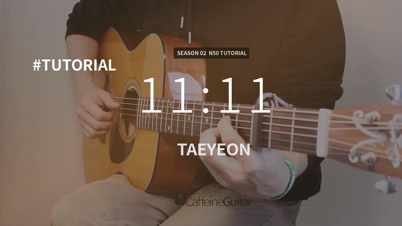 tutorial-1111-taeyeon-guitar-cover-lesson-chord