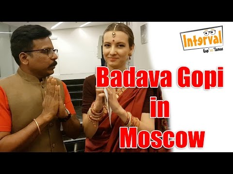 Badava Gopi withh Moscow Tamil University Student Hannah | Interval