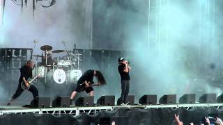In Flames - The Hive, Live @ Sonisphere,Stockholm 2011