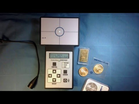 Gold and silver coin and bar detector