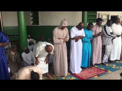Muslim black star players arrives at Kumasi central Mosque to seek for Allah Blessing  Part 2