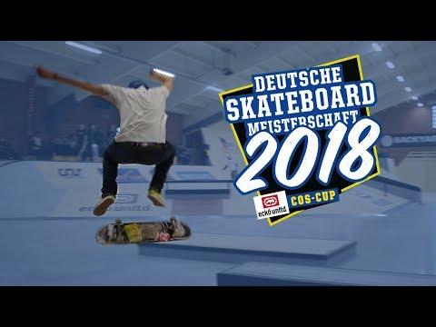 Deutsche SKATEBOARD Meisterschaft 2018