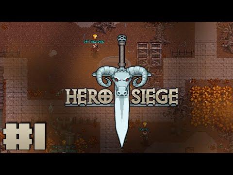 Hero Siege #1 — Айзек + Диабло = ?