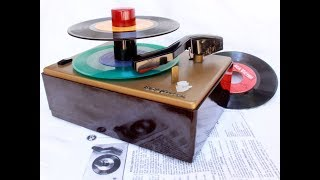 How a 1949 RCA Record Changer Should Play Records
