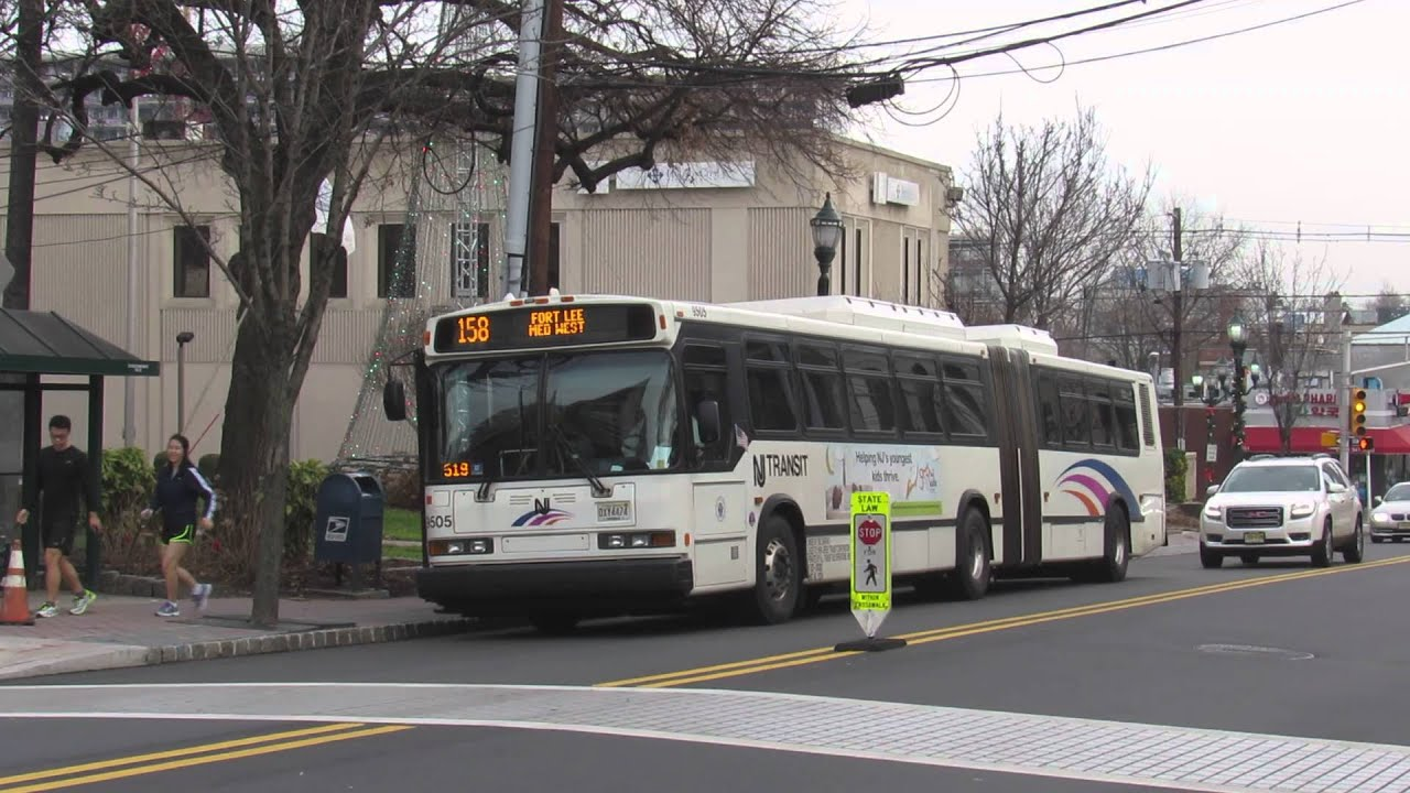 Nj Transit Bus Neoplan An459 9505 On The Route 158 Youtube